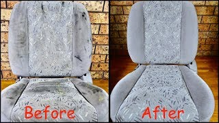 How To Easily Clean Car Cloth Seats Like A Pro