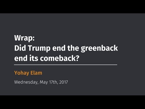 Wrap Did Trump end the greenback end its comeback?