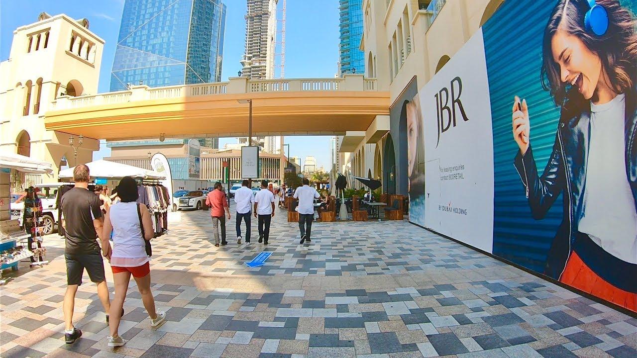 Walk in Dubai The Walk at JBR - YouTube