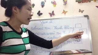 Вьетнамский язык для русских -урок 2- Шесть тонов - Тема: Семье