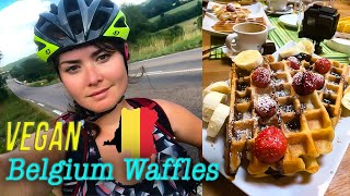 Vegan Belgium Waffles - Recipe, History in Brussels