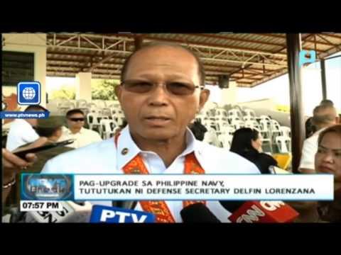 Pag-upgrade sa Philippine Navy, tututukan ni Defense Secretary Delfin Lorenzana