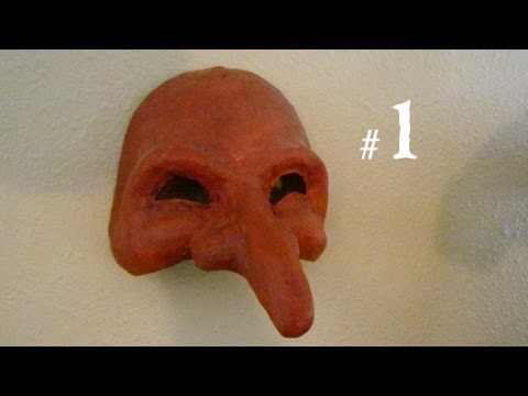 How to Make a Mask - Pantalone, from Commedia del Arte