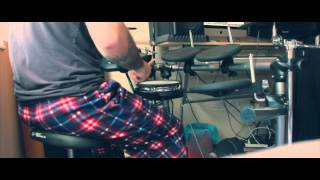 Roland TD-6 Using EZ Drummer Metal Machine :: Drum Solo