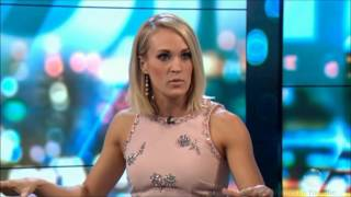 Carrie Underwood - LIVE No Dirt Australian Tv Interview Dec. 7, 2016