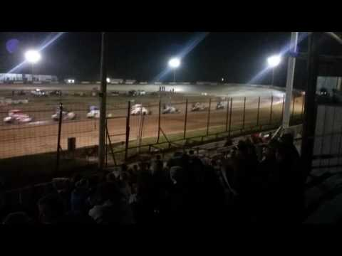 POWRi Midget Feature part 2/2  Fayette County Speedway