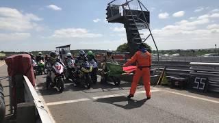 British Superbike Championship tests at Snetterton Circuit