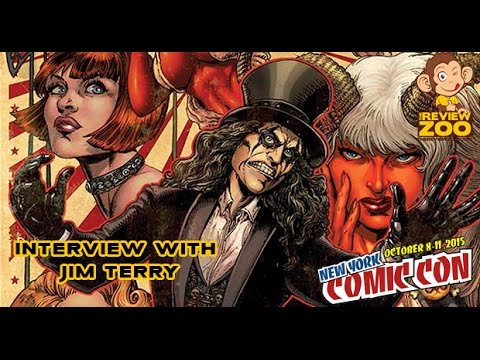 New York Comic Con 2015 Interview with Jim Terry