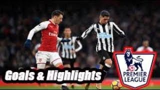 Newcastle vs Arsenal - Goals & Highlights - Premier League 18-19