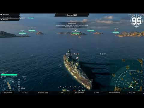 [95th] [WoWS-EU] Wednesday shipping forecast - westerly random with a chance of clan? (151117)