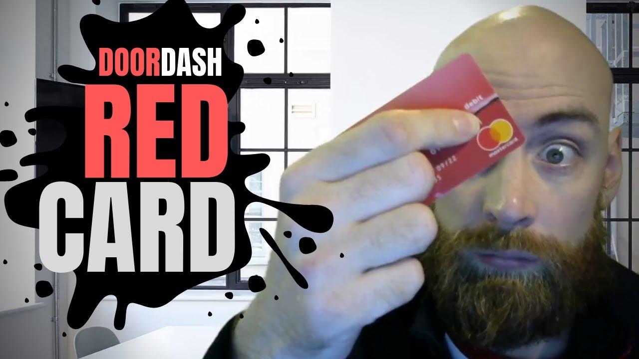 Doordash red card