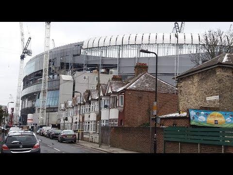 Spurs New Stadium - White Hart Lane - 18 March 2018