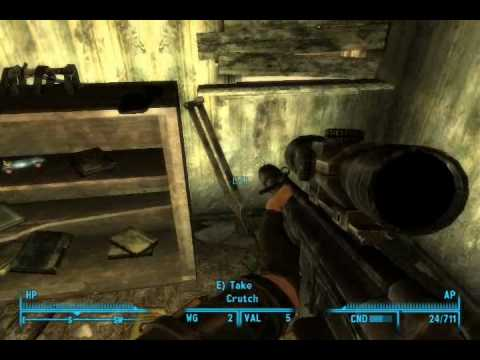 Get The Railway Rifle in Fallout 3 - YouTube