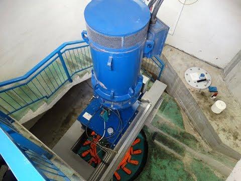 www.hydro-electricity.eu, SIAPRO 310 kW Kaplan turbine, Turn key project hydro plant in Slovenia