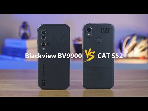 Blackview BV9900 VS CAT S52, The Most Powerful Rugged Outdoor Smartphone