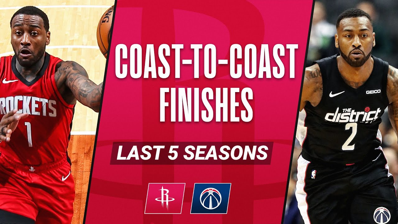 John Wall's BEST Coast-To-Coast Finishes Over The Last 5 Seasons!
