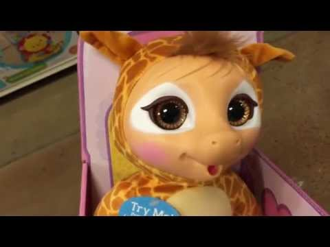 Animal Babies Nursery Baby Giraffe Interactive Talking Stuffed
