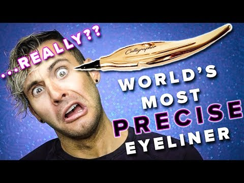 The World's Most PRECISE Eyeliner??? REALLY?!?!