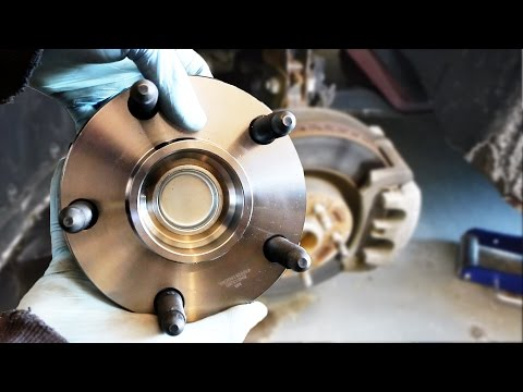 Hub Bearing Replacement (Fast and Easy)