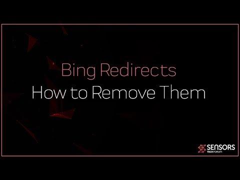 Remove Bing Redirect Virus