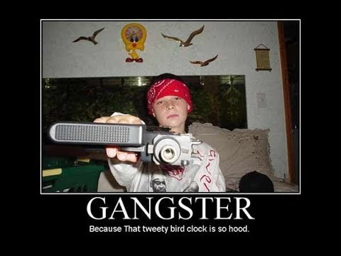 Don't Act Hood If Your Not From The Hood (Gangster By Choice Isn't Gangster)