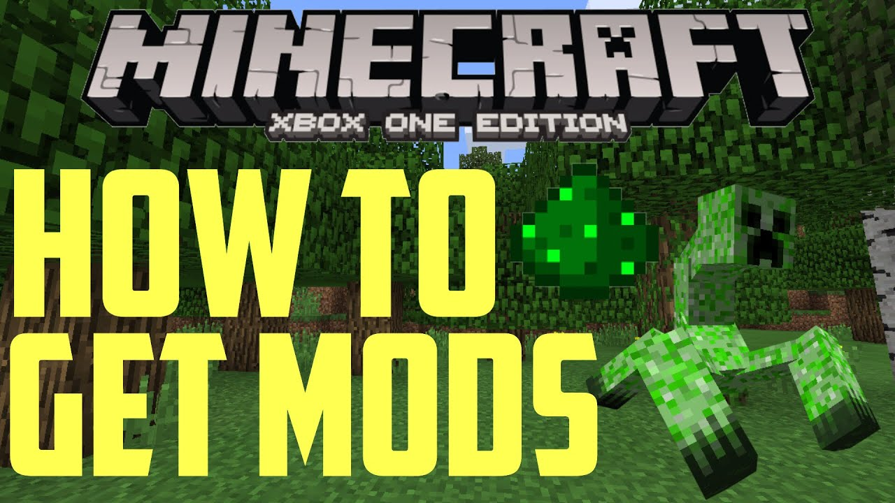 ▻ great deals & xbox/psn codes: How To Get Mods On Minecraft Xbox One Youtube