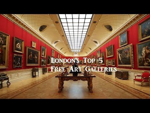 London's Top 5 Free Art Galleries