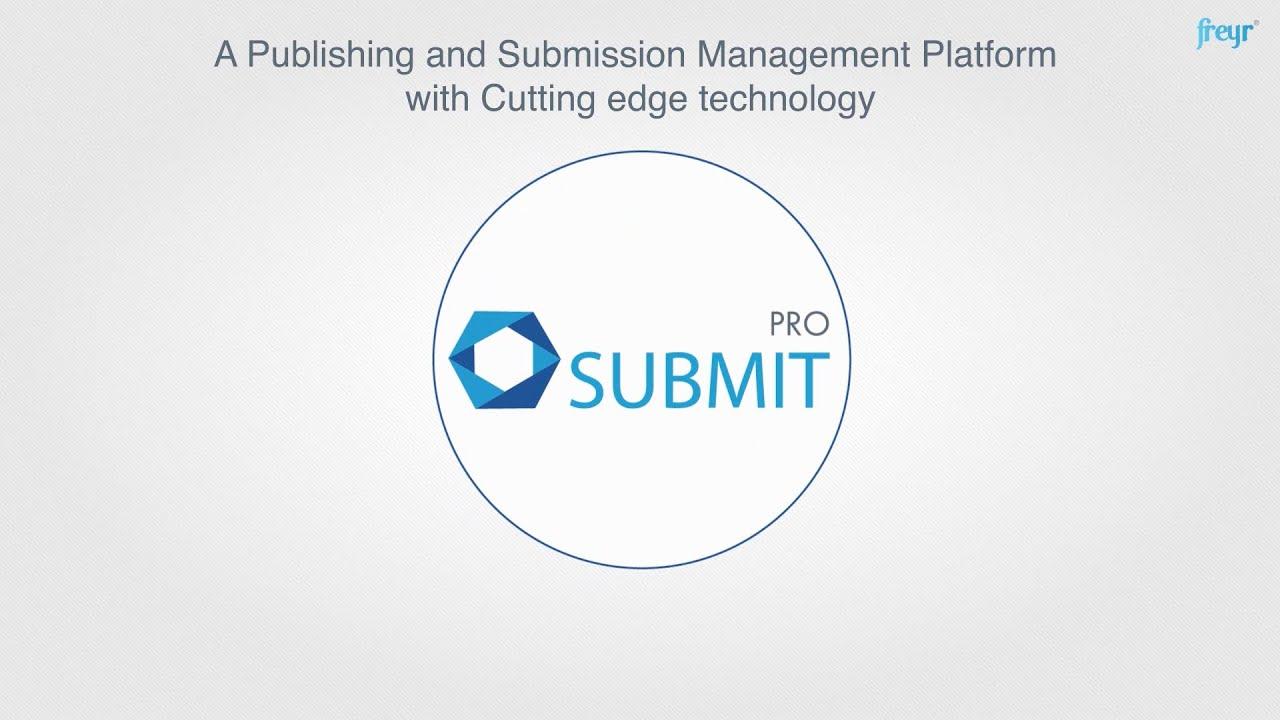 eCTD Software - Freyr SUBMIT PRO
