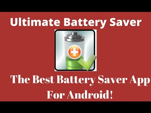 Ultimate Battery Saver App - Best Battery Saver for Android