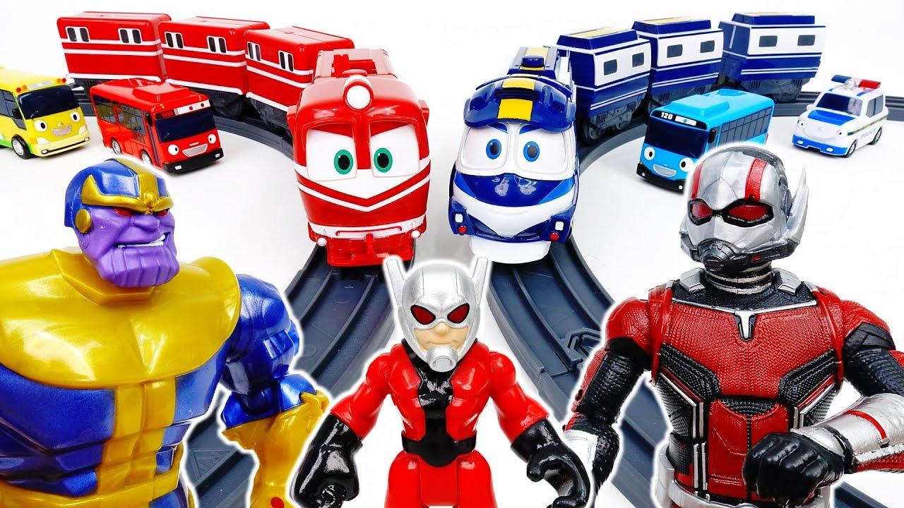 Ant-Man, Show Villains Your Power~!  - ToyMart TV