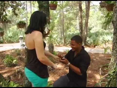 Port St. Lucie Botanical Gardens Marriage Proposal