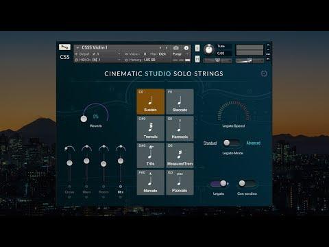 Cinematic Studio Solo Strings - Technical Walkthrough