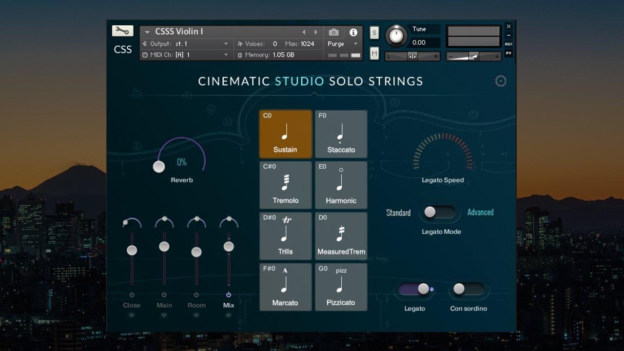 Cinematic Studio Solo Strings