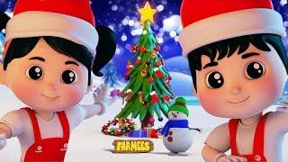 Deck The Halls   Christmas Rhymes For Children   Xmas Song   Kindergarten Nursery Rhymes by Farmees