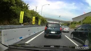 東名高速渋滞解消の瞬間