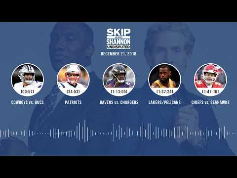 UNDISPUTED Audio Podcast (12.21.18) with Skip Bayless, Shannon Sharpe & Jenny Taft | UNDISPUTED
