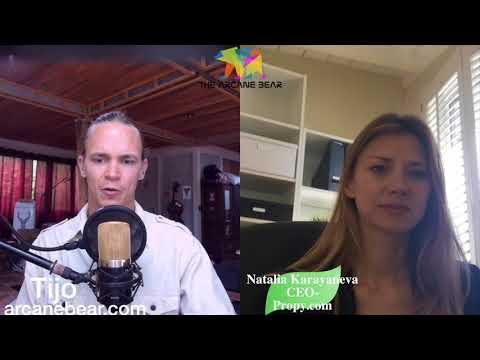 Buy & Sell Property On The Blockchain~ Propy CEO - Natalia Karayaneva Chats w/ Tijo