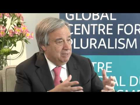 António Guterres - Interview at the Global Centre for Pluralism, May 29, 2014