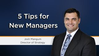 5 things new managers should focus on ...