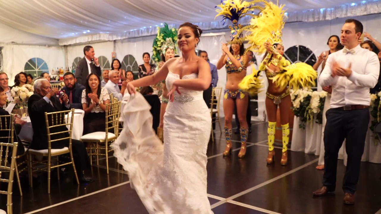 Бразильские свадьбы с их эротикой