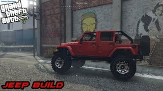 GTA 5 ROLEPLAY - Jeep build EP. 40