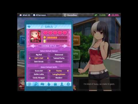 all endings Huniepop character