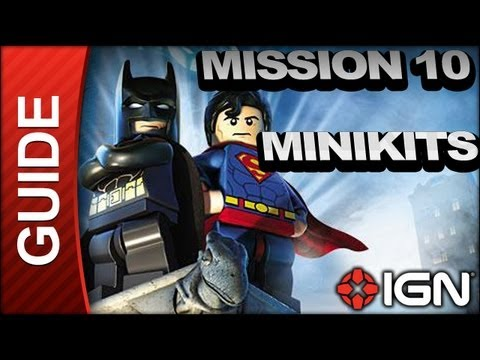 LEGO Batman 2: DC Super Heroes - Down to Earth Minikit/Citizen Locations