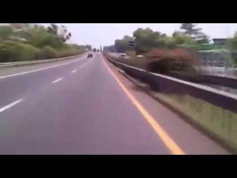 Driving Timelapse, Tol Ungaran - Kaligawe, Semarang, Indonesia