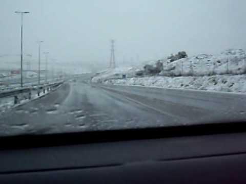 Conduciendo en la gran nevada las rozas de madrid 1 de - Electricistas las rozas ...