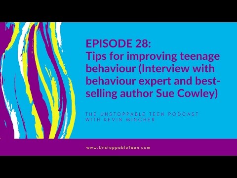 #28: Tips for improving teenage behaviour (Interview with best-selling author Sue Cowley)