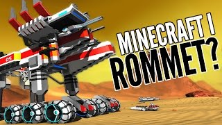 MINECRAFT I ROMMET? - Robocraft / Norsk Gaming