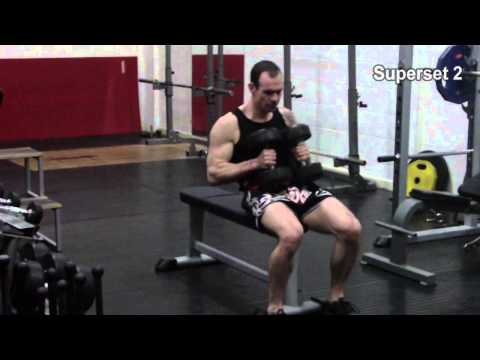 Functional strength and muscle building for MuayThai - session A