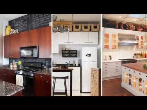 How To Decorate Top Of Kitchen Cabinets Best