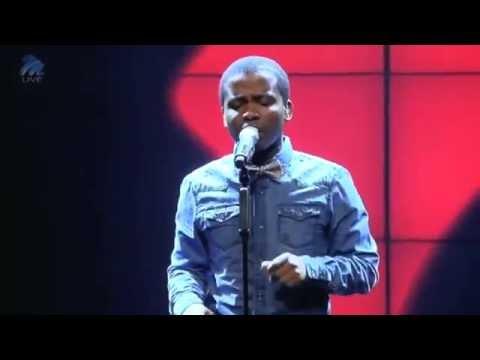 #IdolsSA - Vincent B sang the talk